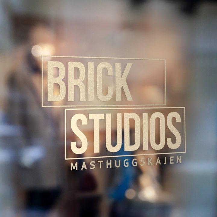 Brick studios sign